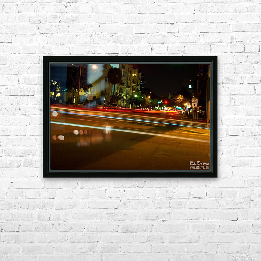 fast lights HD Sublimation Metal print with Decorating Float Frame (BOX)
