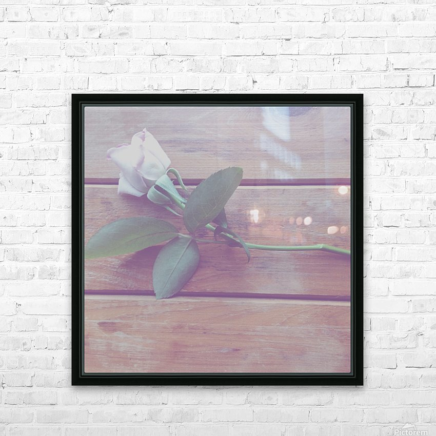 LOST love HD Sublimation Metal print with Decorating Float Frame (BOX)