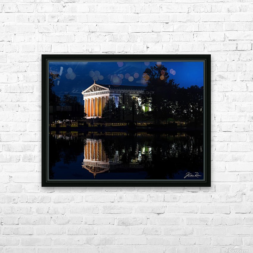 Parthenon in Nashville HD Sublimation Metal print with Decorating Float Frame (BOX)