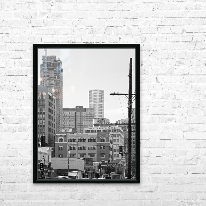 DTLA Near 8th & San Pedro HD Sublimation Metal print with Decorating Float Frame (BOX)