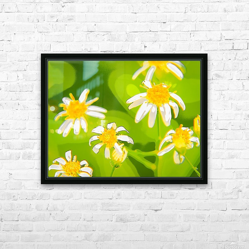 My Daisies - Mes Marguerites HD Sublimation Metal print with Decorating Float Frame (BOX)