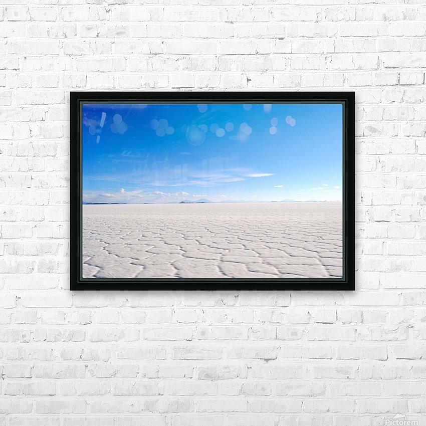 Salt Bae HD Sublimation Metal print with Decorating Float Frame (BOX)