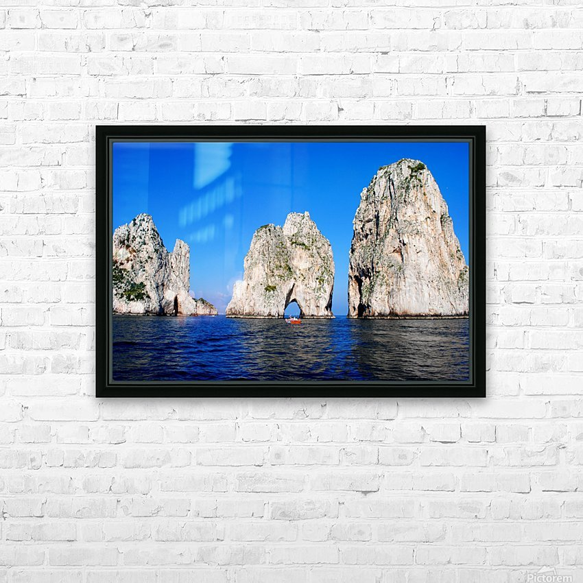 Three Sirens HD Sublimation Metal print with Decorating Float Frame (BOX)
