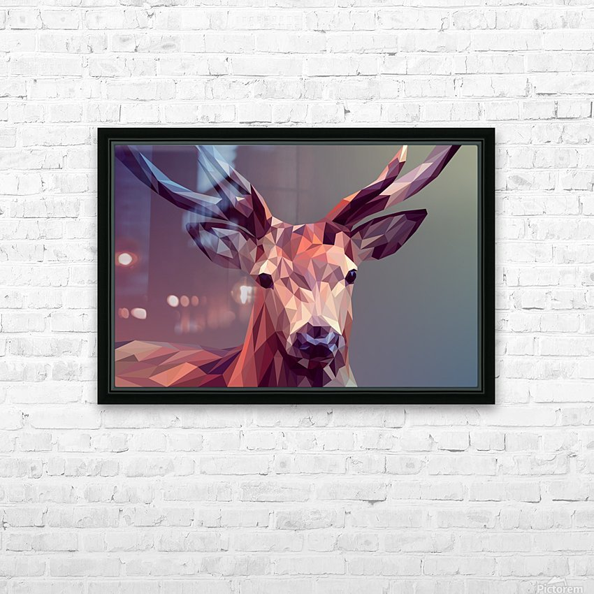 polycerf HD Sublimation Metal print with Decorating Float Frame (BOX)