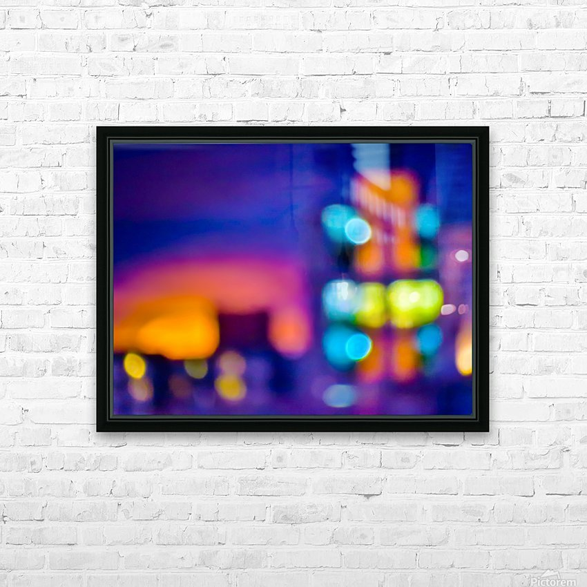 Sunset Blvd HD Sublimation Metal print with Decorating Float Frame (BOX)