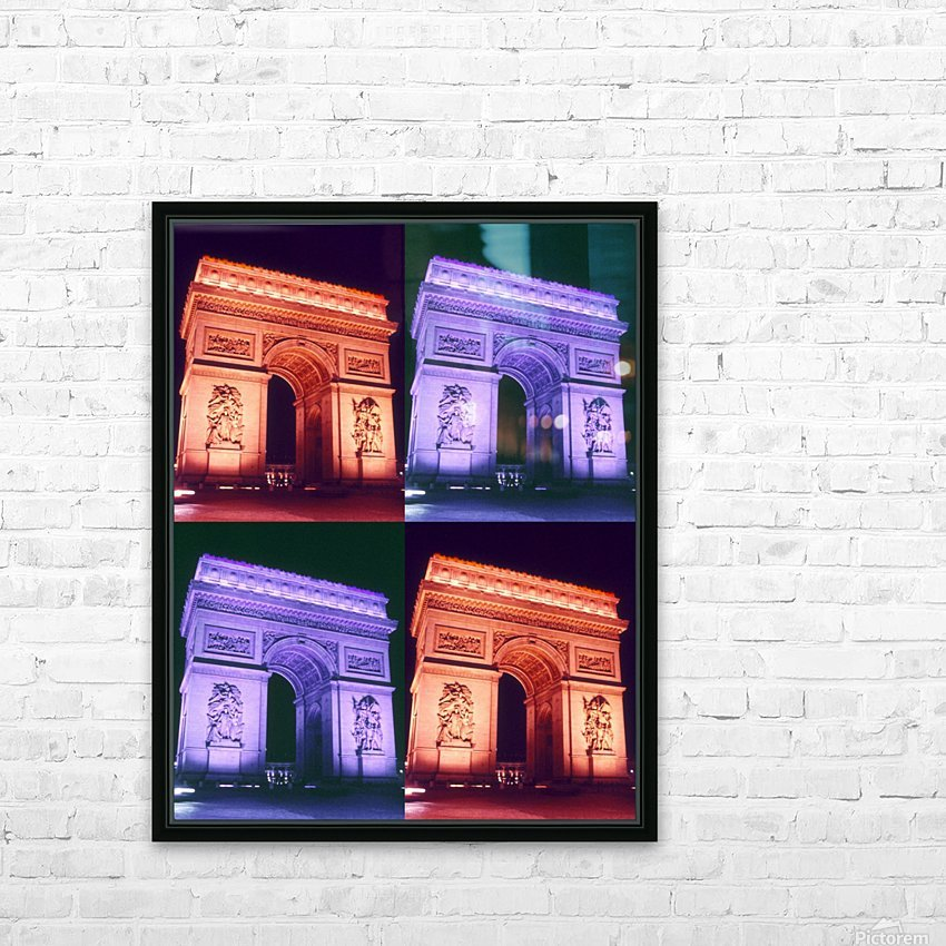 ARC at MIDNIGHT HD Sublimation Metal print with Decorating Float Frame (BOX)