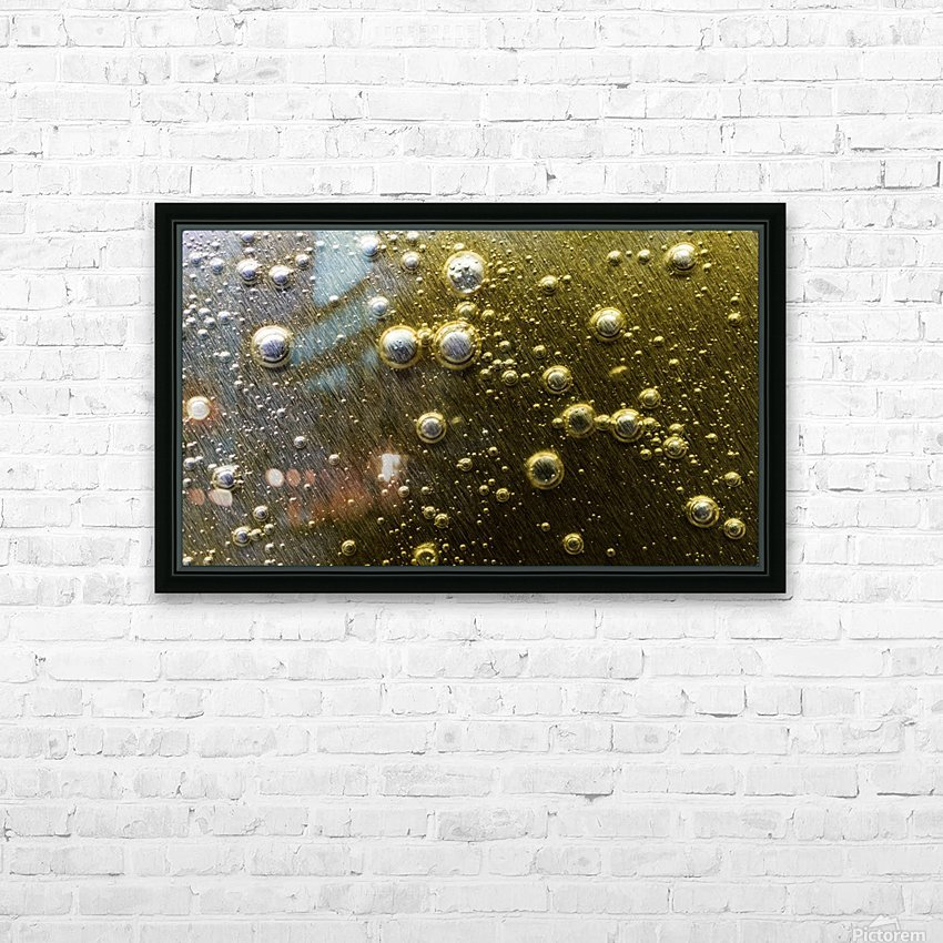 Gold Rush - Ruee vers l Or HD Sublimation Metal print with Decorating Float Frame (BOX)