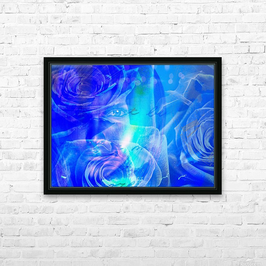 Love HD Sublimation Metal print with Decorating Float Frame (BOX)