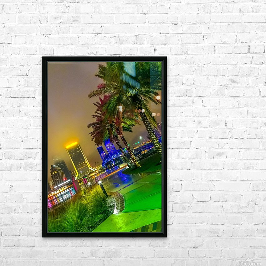 Downtown Fogg HD Sublimation Metal print with Decorating Float Frame (BOX)