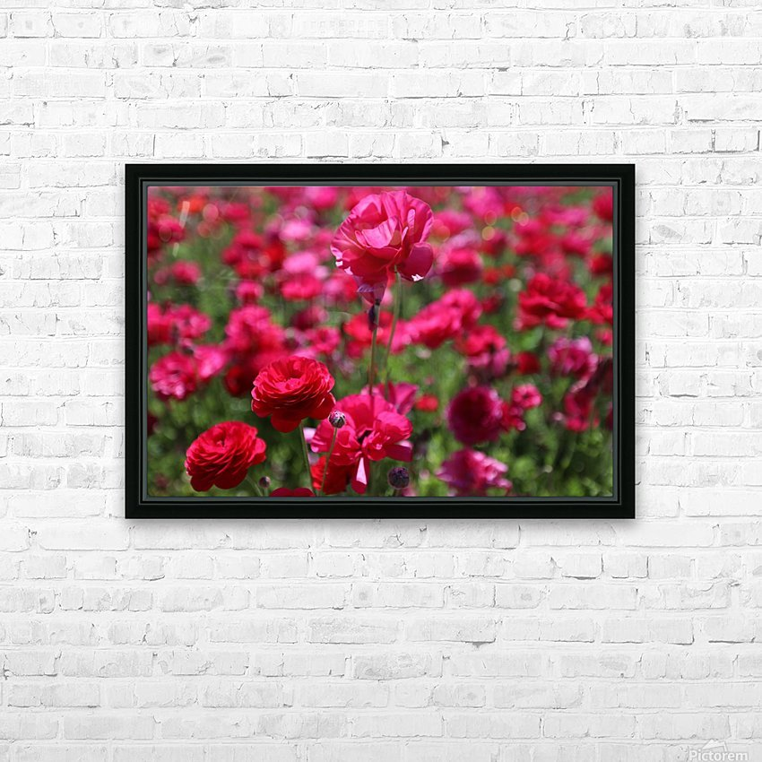 Never-ending Roses  HD Sublimation Metal print with Decorating Float Frame (BOX)