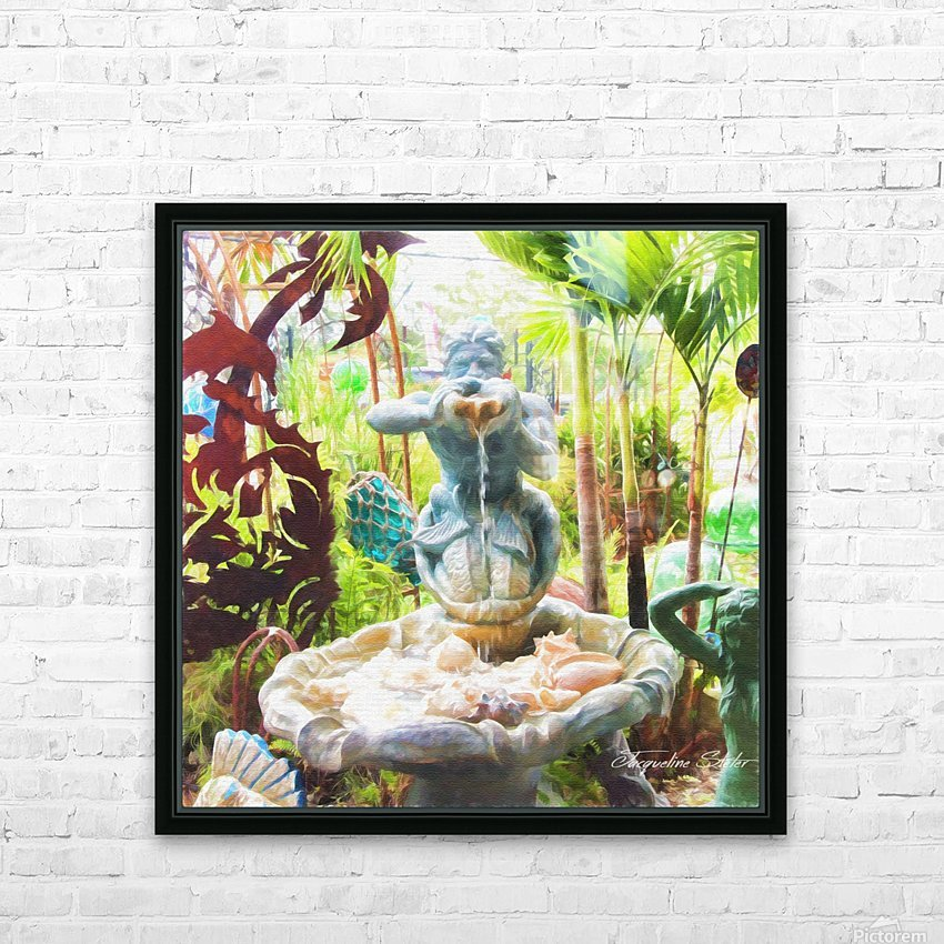 In The Sea HD Sublimation Metal print with Decorating Float Frame (BOX)