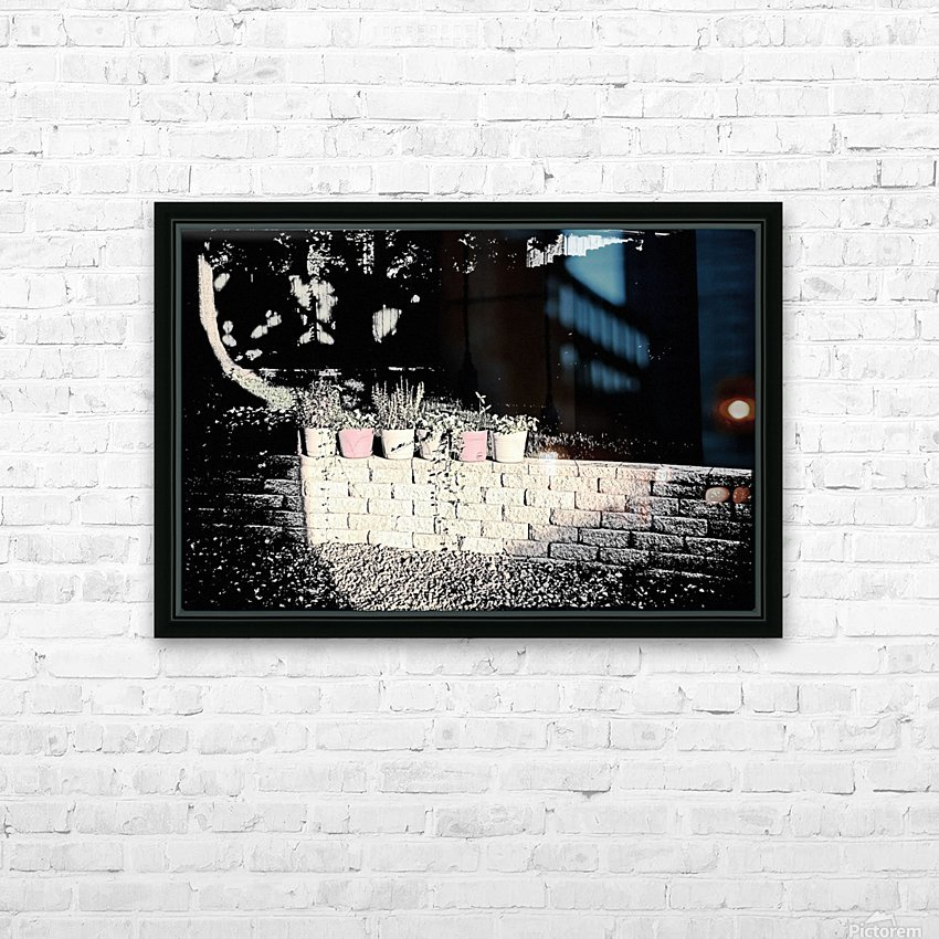 The Wall HD Sublimation Metal print with Decorating Float Frame (BOX)