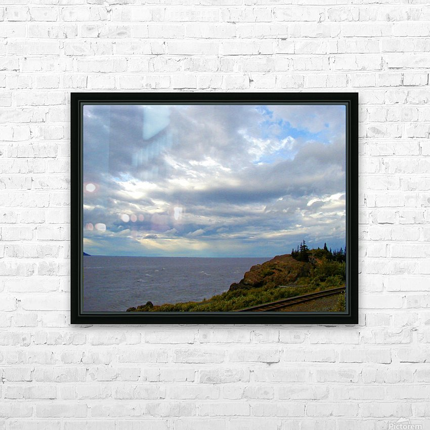Hwy 9 to Seward HD Sublimation Metal print with Decorating Float Frame (BOX)