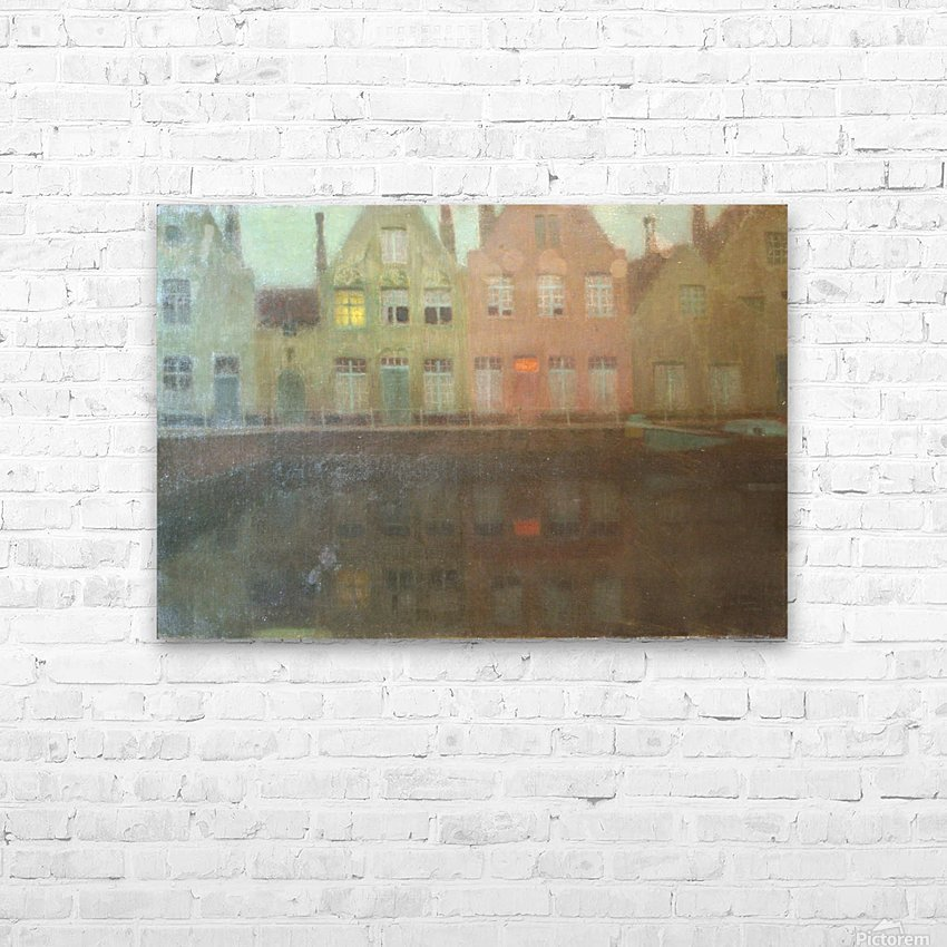 Le quai HD Sublimation Metal print with Decorating Float Frame (BOX)