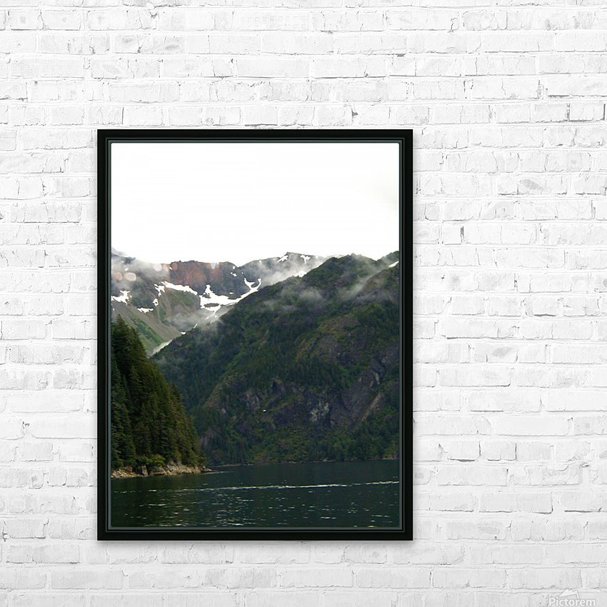 Whats Around The Bend HD Sublimation Metal print with Decorating Float Frame (BOX)