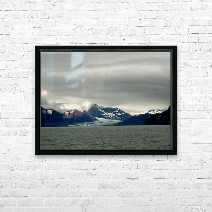 Glacier HD Sublimation Metal print with Decorating Float Frame (BOX)