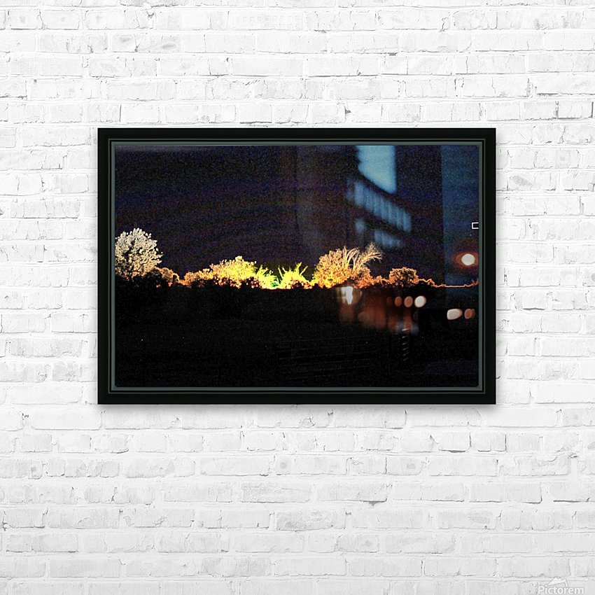 I Dreamed A Sunset HD Sublimation Metal print with Decorating Float Frame (BOX)