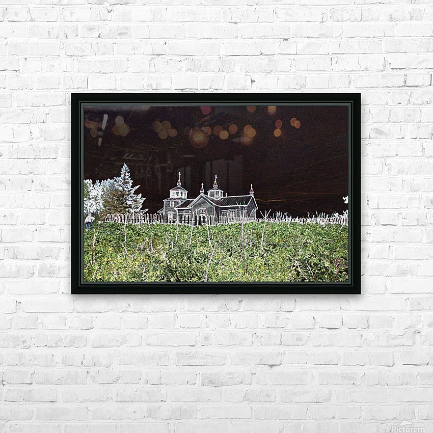 The Russians Were Here HD Sublimation Metal print with Decorating Float Frame (BOX)