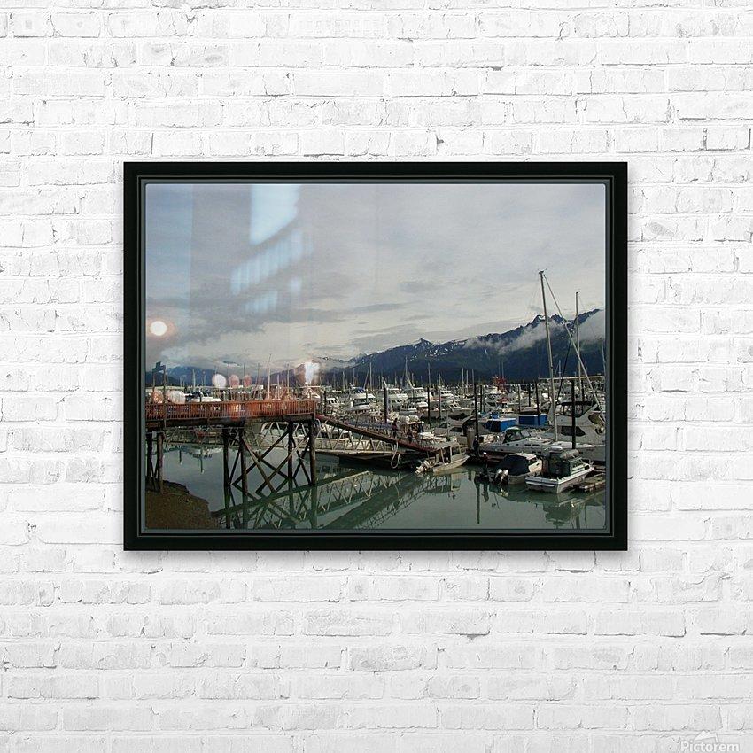 Seward Habor HD Sublimation Metal print with Decorating Float Frame (BOX)