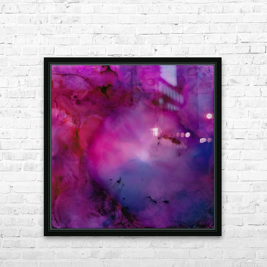 Nebula HD Sublimation Metal print with Decorating Float Frame (BOX)
