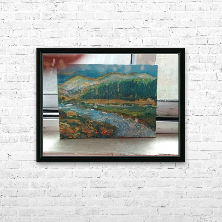 15269762690591284194293 HD Sublimation Metal print with Decorating Float Frame (BOX)