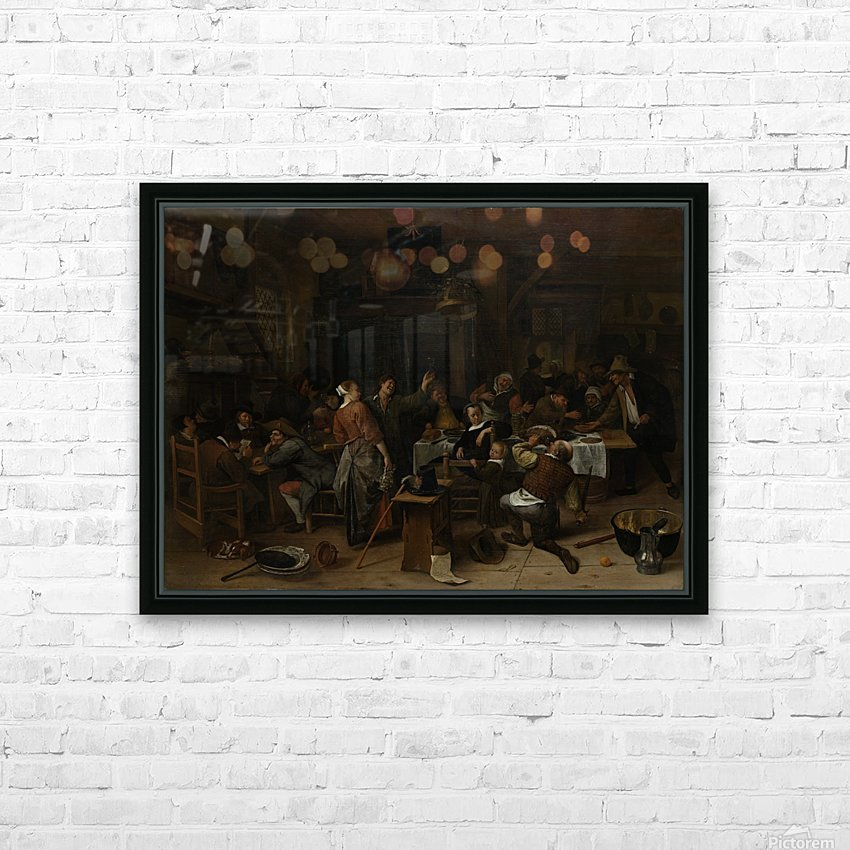 Prinsjesdag Rijksmuseum HD Sublimation Metal print with Decorating Float Frame (BOX)