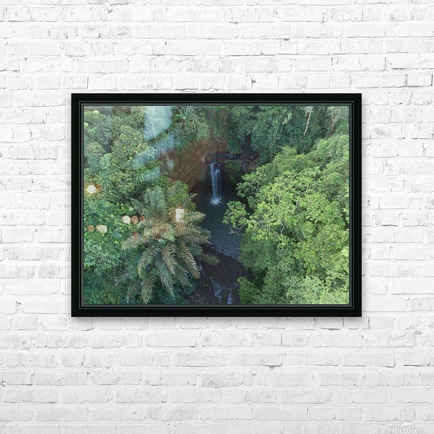 Tibumana waterfall - Bali HD Sublimation Metal print with Decorating Float Frame (BOX)
