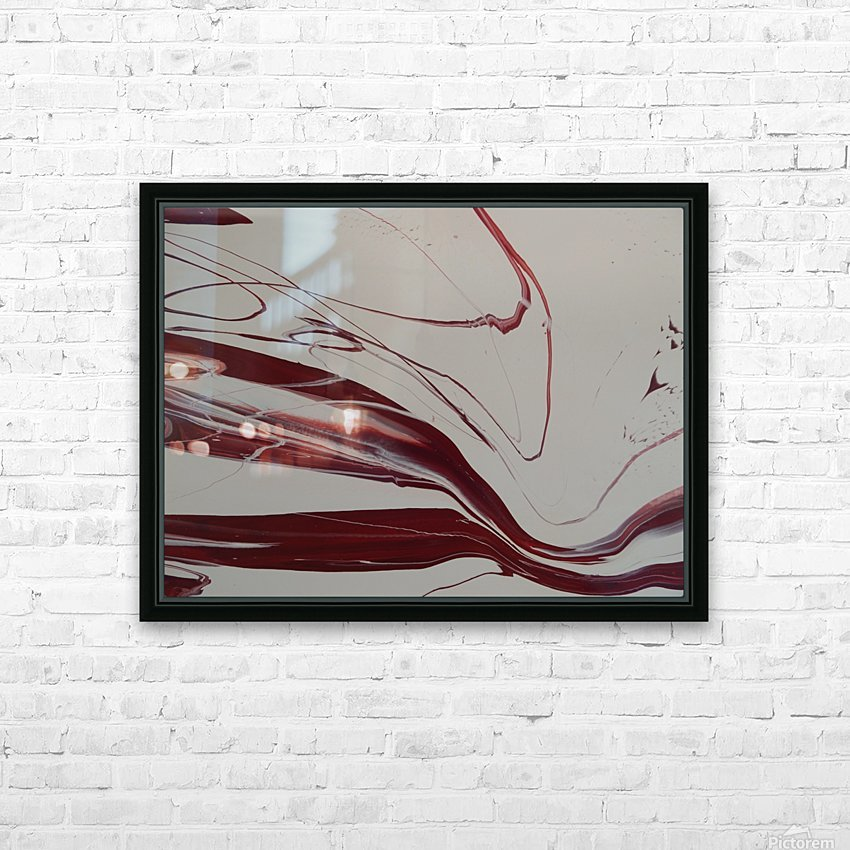 WINE HD Sublimation Metal print with Decorating Float Frame (BOX)