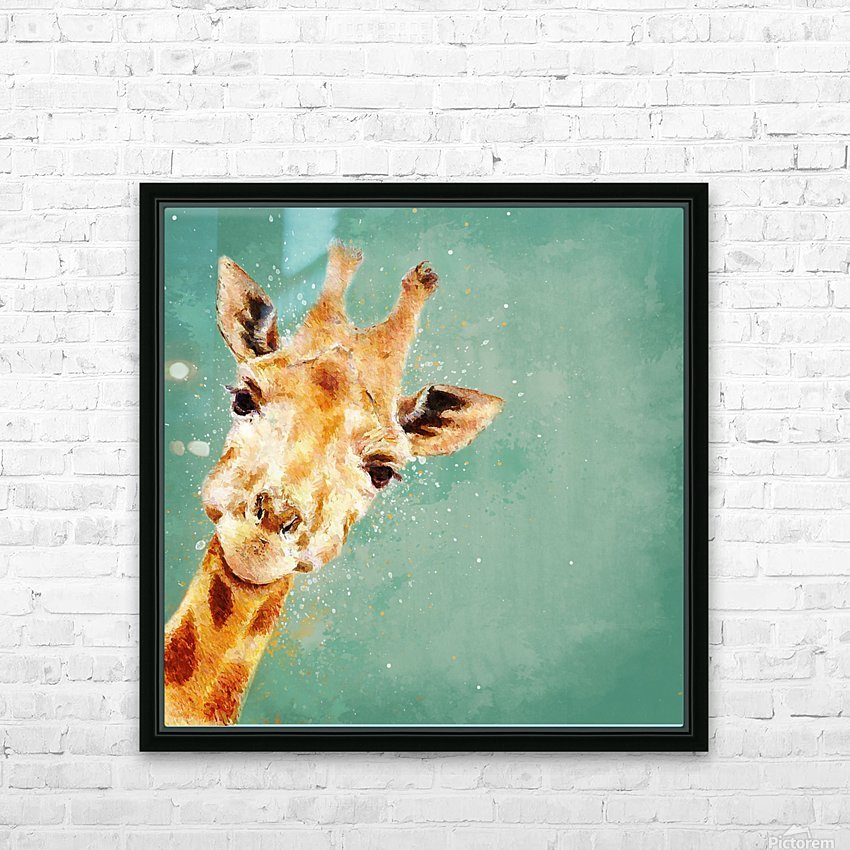 Girafeau HD Sublimation Metal print with Decorating Float Frame (BOX)