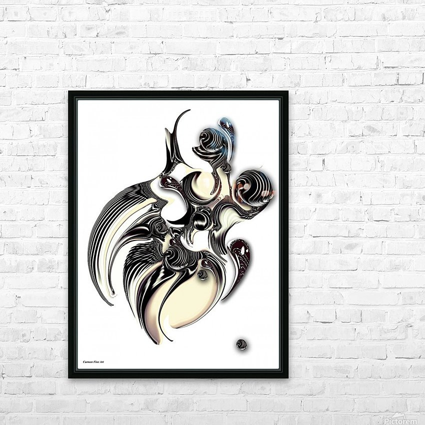 Perceptive Formation HD Sublimation Metal print with Decorating Float Frame (BOX)