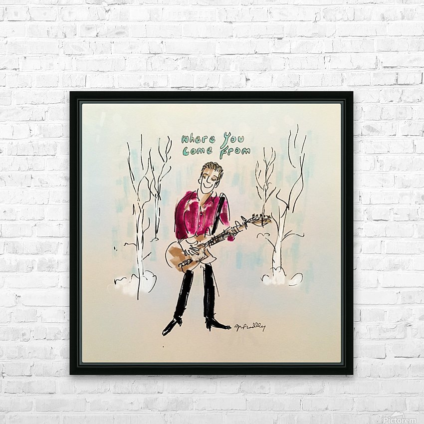 Britton Buchanan - The Voice HD Sublimation Metal print with Decorating Float Frame (BOX)