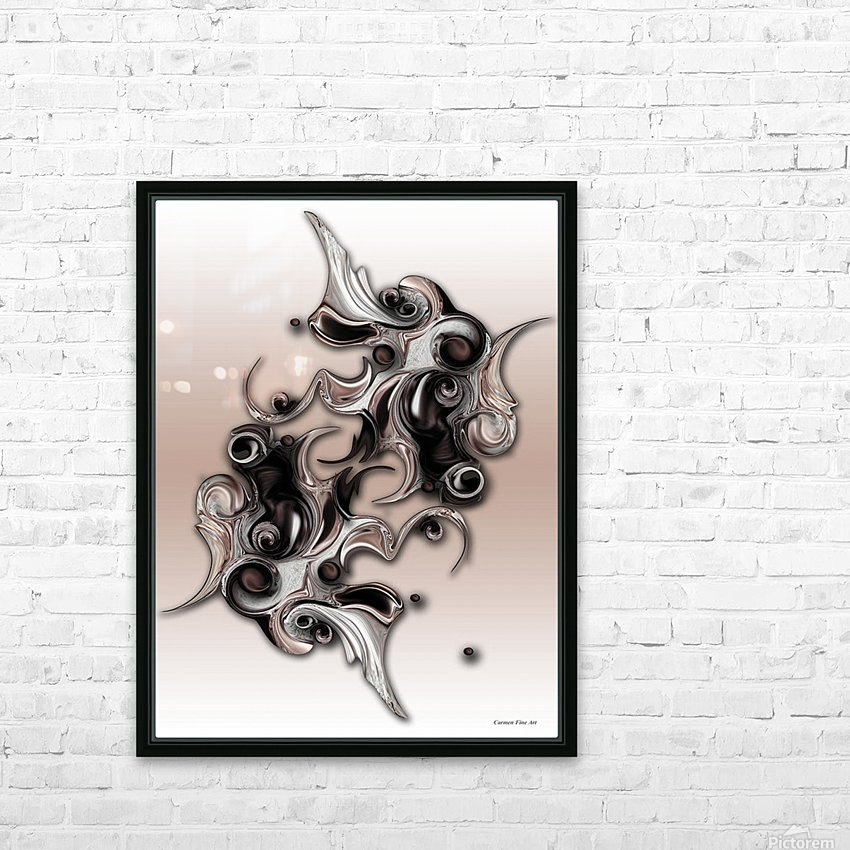Soft Impression Of Dysplastic Departure HD Sublimation Metal print with Decorating Float Frame (BOX)