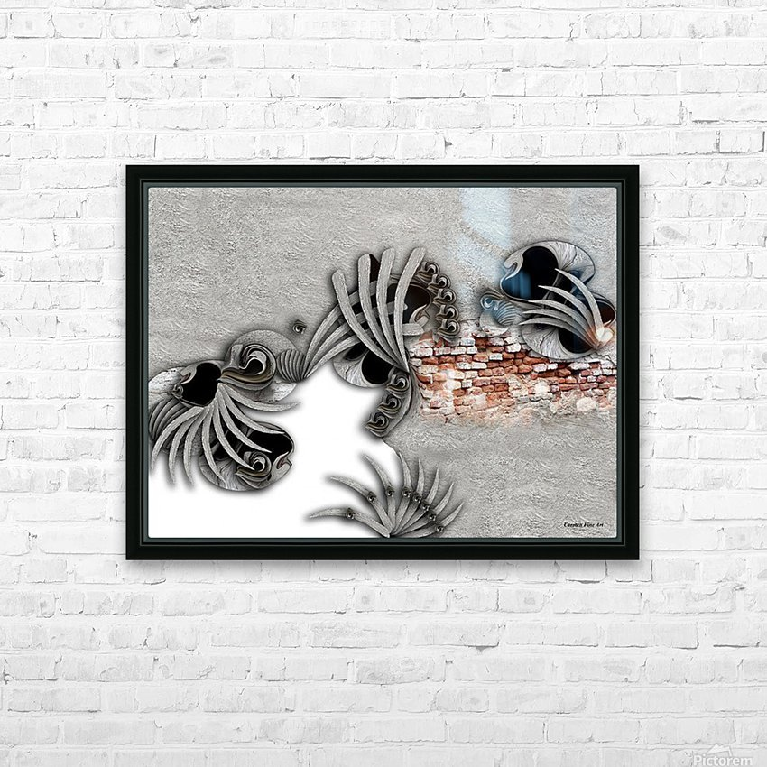 Supposed Emotion HD Sublimation Metal print with Decorating Float Frame (BOX)