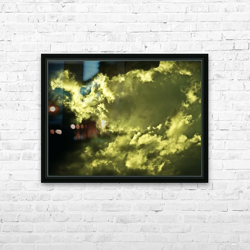 A (13) HD Sublimation Metal print with Decorating Float Frame (BOX)