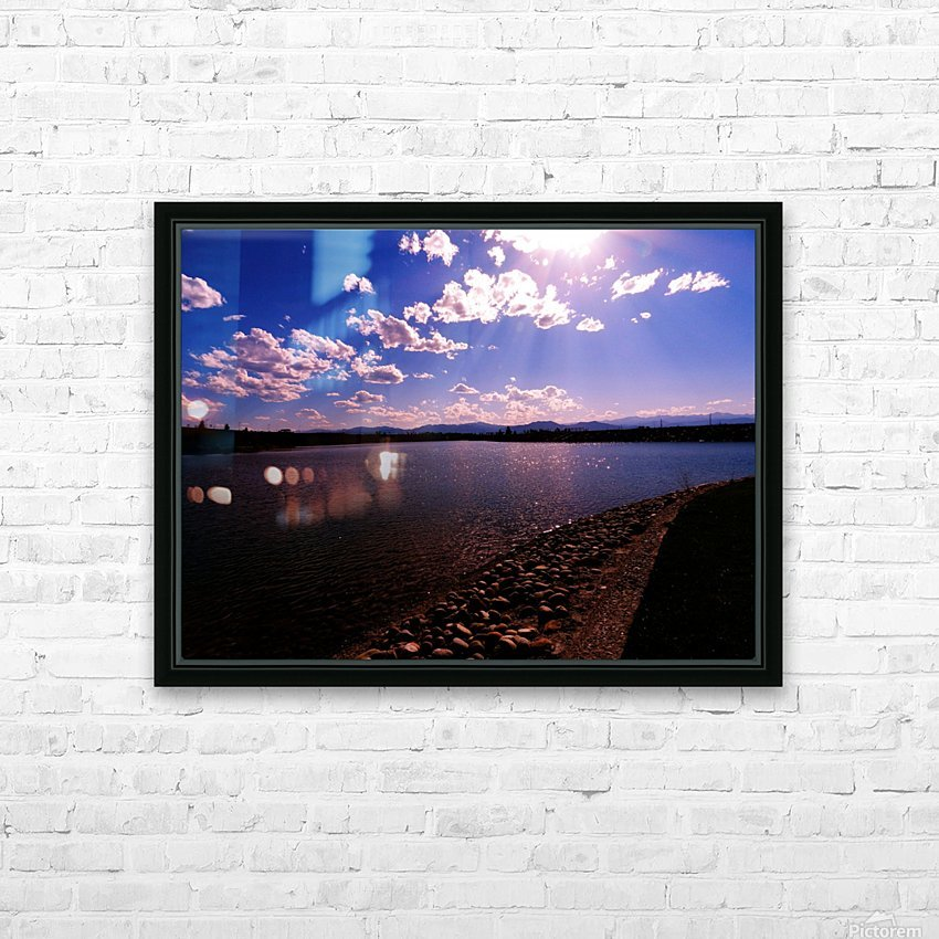 sofn-5D7F6A94 HD Sublimation Metal print with Decorating Float Frame (BOX)