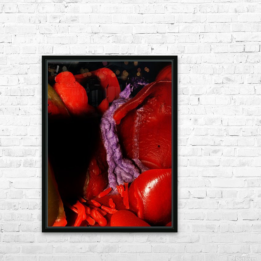 B (8) HD Sublimation Metal print with Decorating Float Frame (BOX)