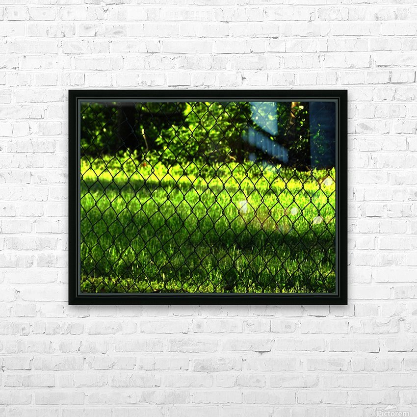 C (2) HD Sublimation Metal print with Decorating Float Frame (BOX)
