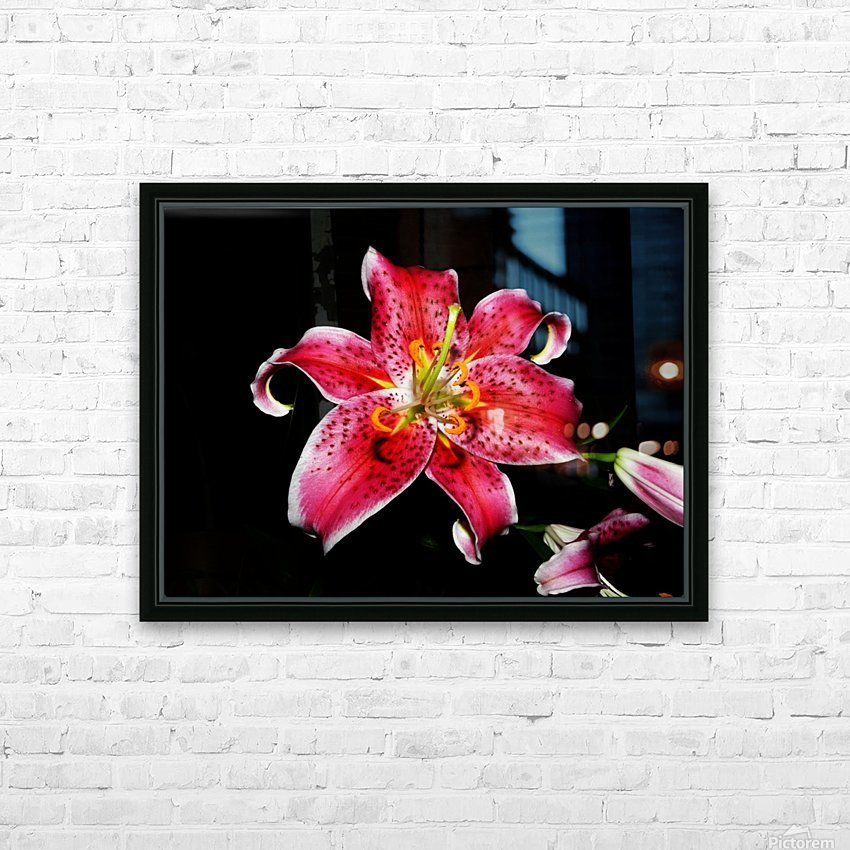 C (1) HD Sublimation Metal print with Decorating Float Frame (BOX)