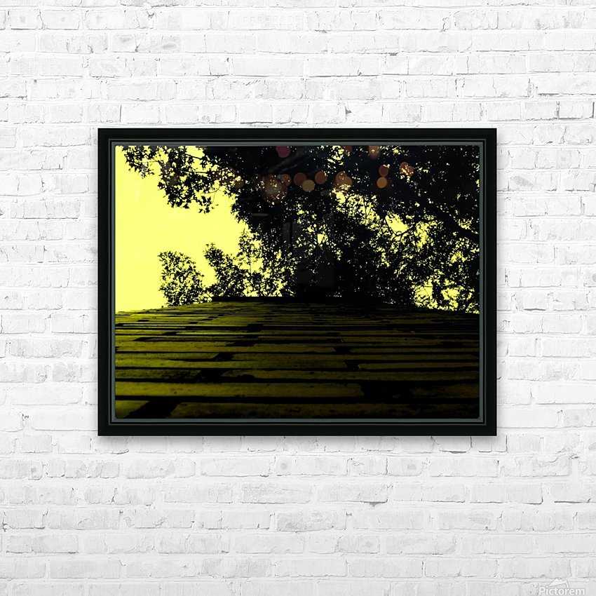 C (15) HD Sublimation Metal print with Decorating Float Frame (BOX)