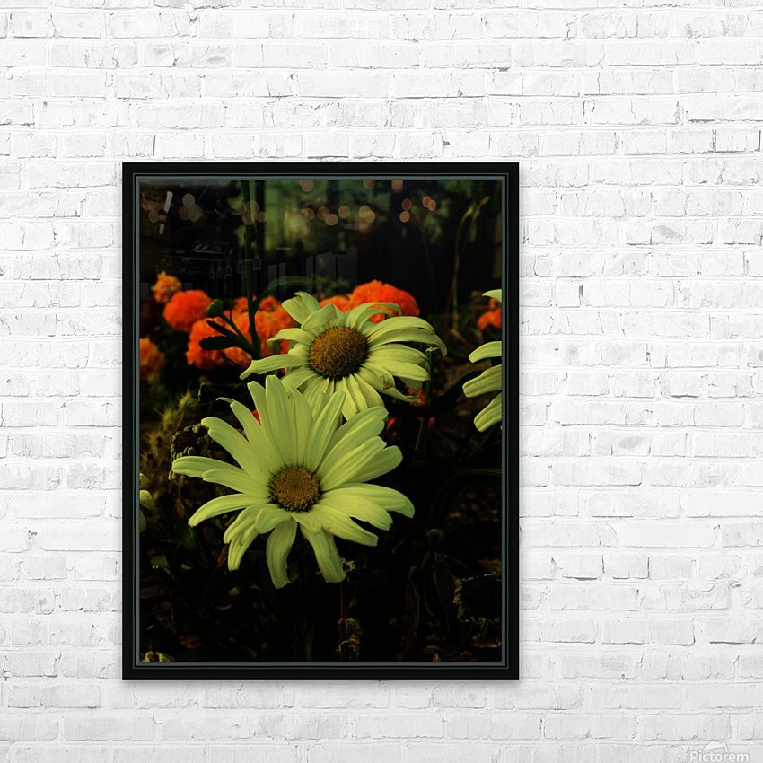 D (12) HD Sublimation Metal print with Decorating Float Frame (BOX)