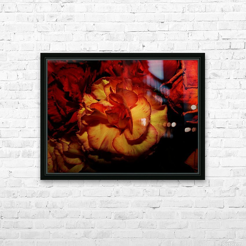 D (8) HD Sublimation Metal print with Decorating Float Frame (BOX)