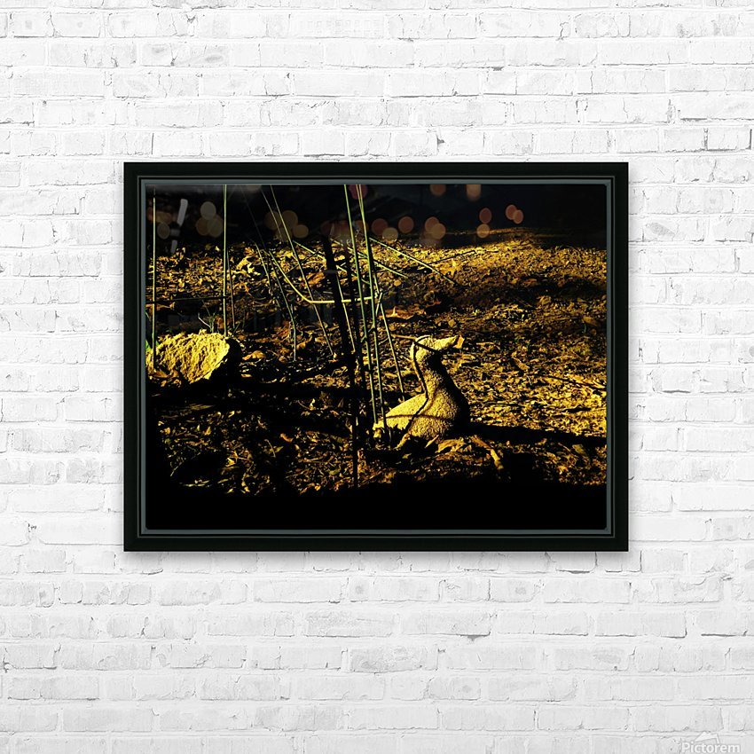 D (2) HD Sublimation Metal print with Decorating Float Frame (BOX)