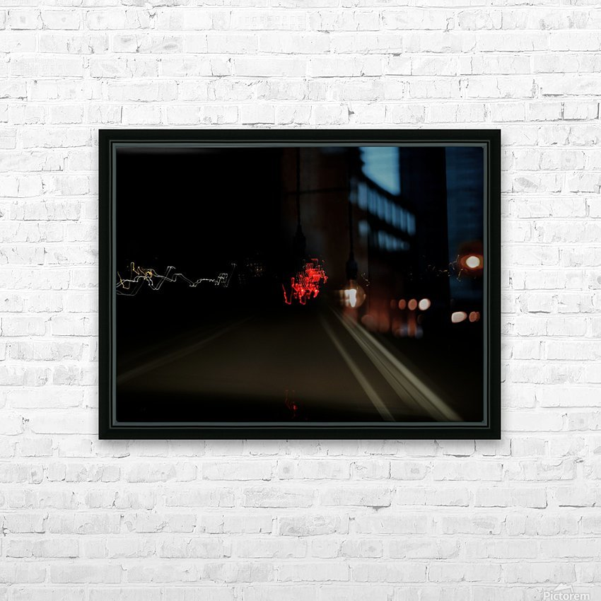 E (9) HD Sublimation Metal print with Decorating Float Frame (BOX)