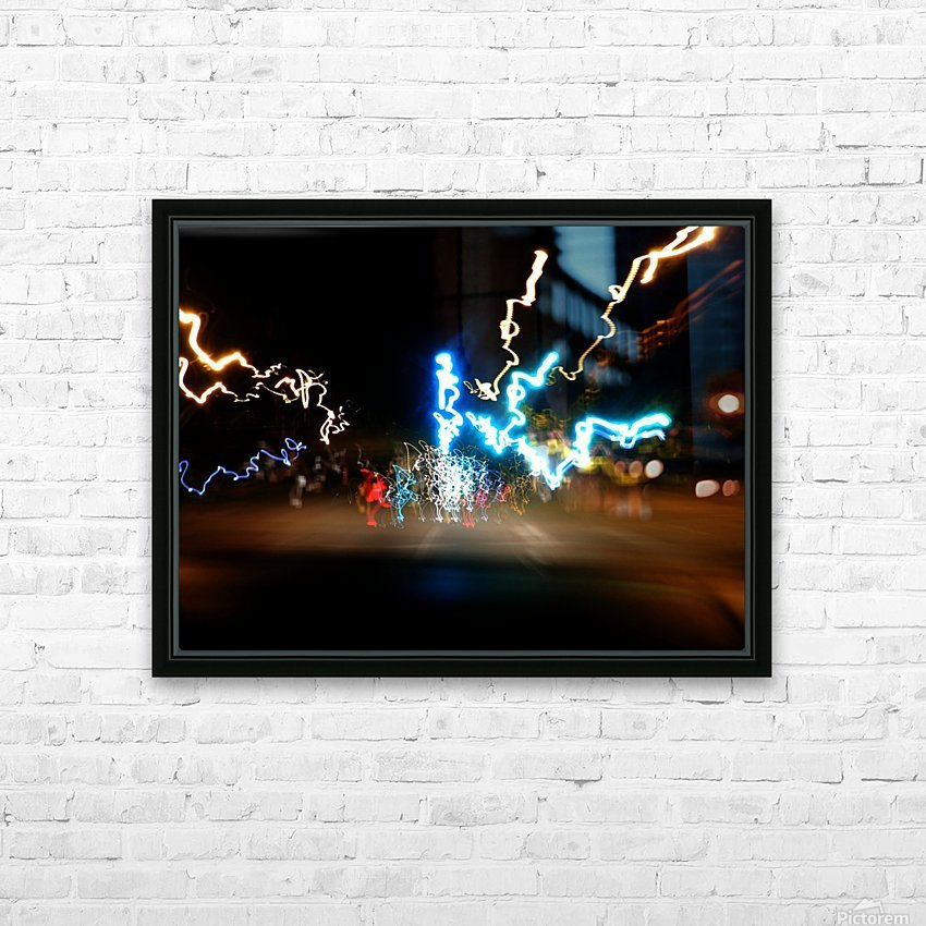 E (8) HD Sublimation Metal print with Decorating Float Frame (BOX)
