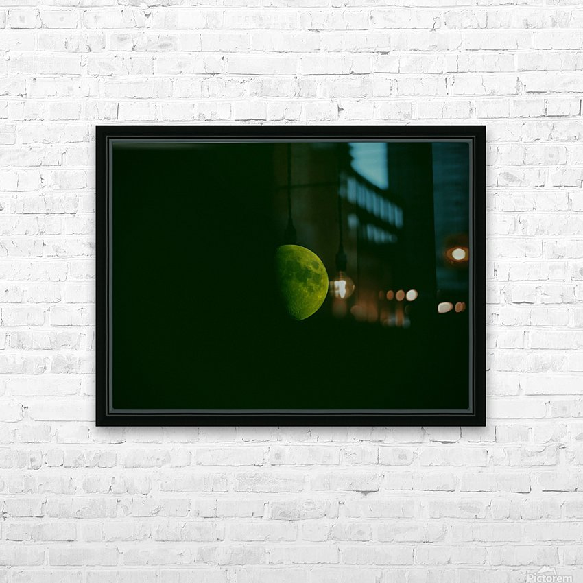 E (4) HD Sublimation Metal print with Decorating Float Frame (BOX)