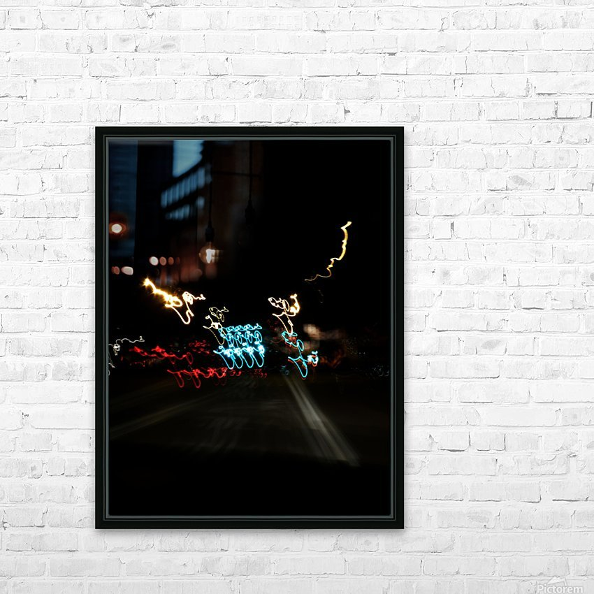 E (10) HD Sublimation Metal print with Decorating Float Frame (BOX)