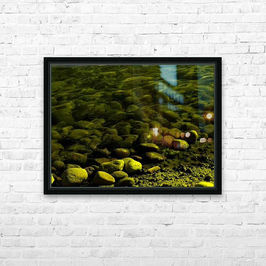 G (1) HD Sublimation Metal print with Decorating Float Frame (BOX)