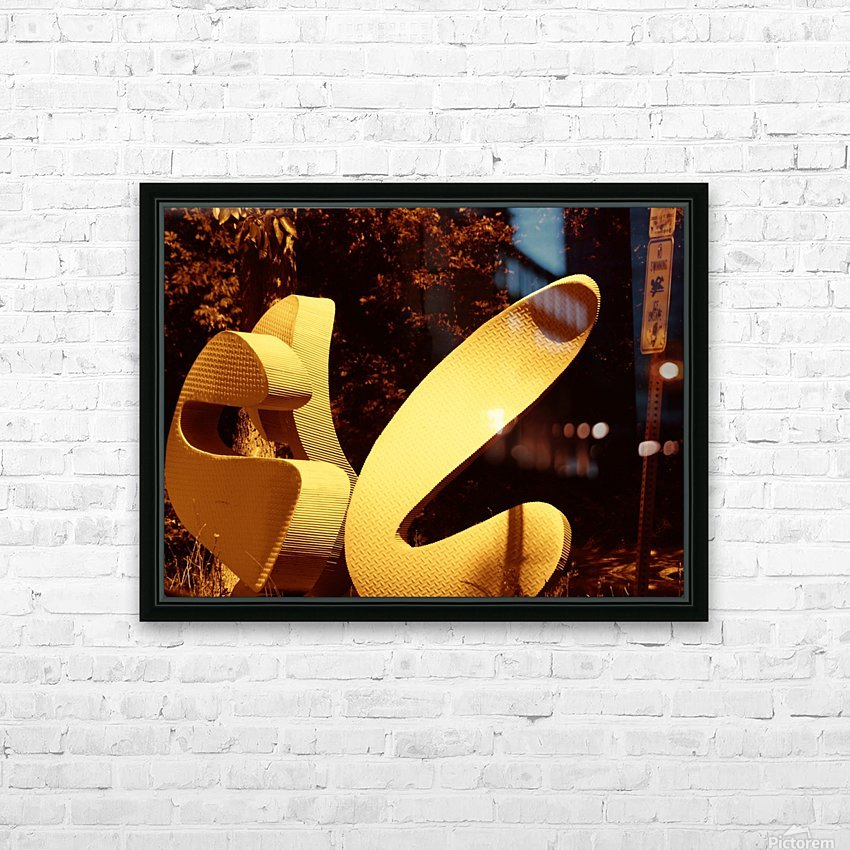 G (11) HD Sublimation Metal print with Decorating Float Frame (BOX)