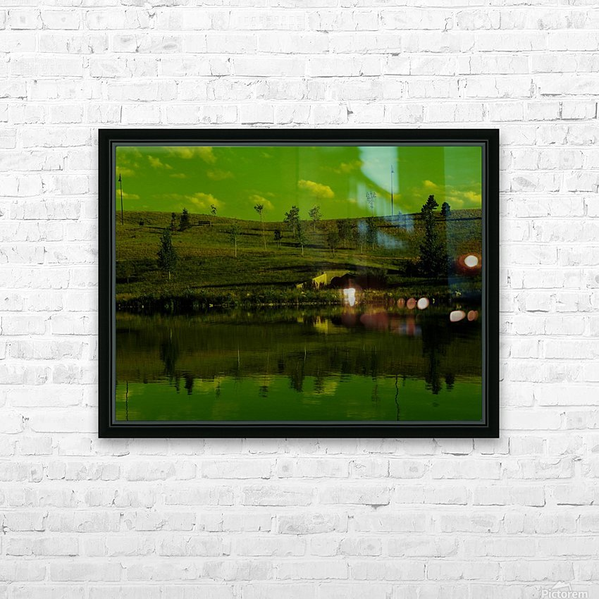 sofn-E0070B84 HD Sublimation Metal print with Decorating Float Frame (BOX)