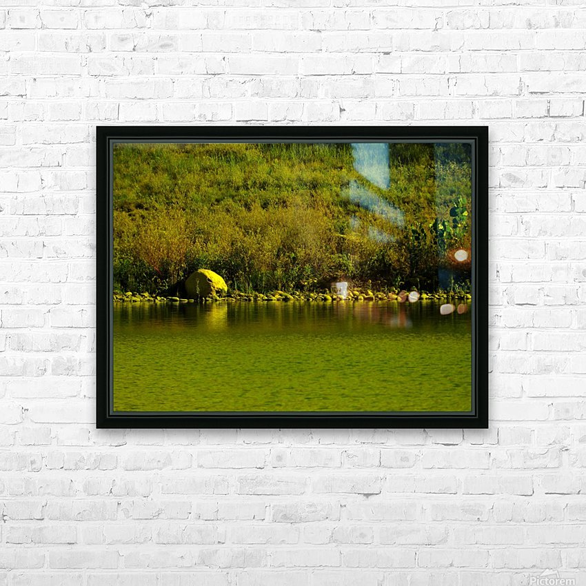 H (4) HD Sublimation Metal print with Decorating Float Frame (BOX)